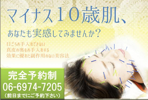 美容鍼 オファー図