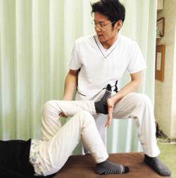 膝 関節可動域訓練