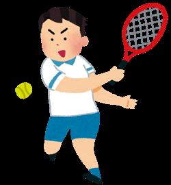 テニス肘 テニスプレイヤー